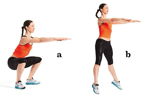 Så här enkelt är det att bygga styrka i ben, bål och rumpa.