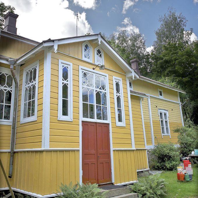 Vanha talo vaatii hoivaa. Kuva: TS/Shoja Lak.