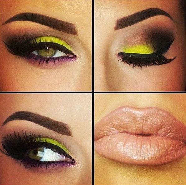 Eye Makeup   Eyeshadow Beautiful, pop of color!