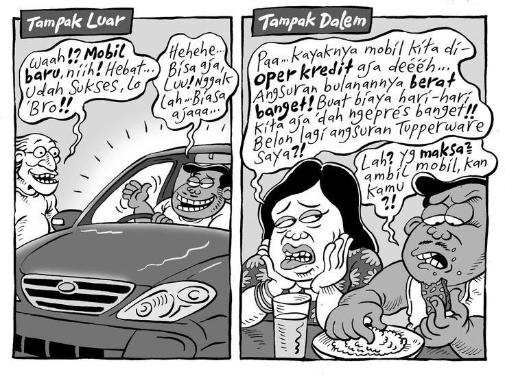 Mice Cartoon, Kompas 14 Sep 2014: Mobil Baru (Tampak Luar & Tampak Dalam)
