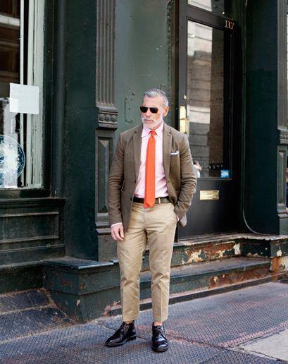 ニックウースターのクローゼットジャケット着こなしメンズNick Wooster: Men's Fashion Director, Bergdorf Goodman and Neiman Marcus