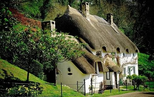 Thatched-roof cottage | England                                                                                                                                                      More