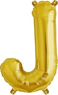 """16"""" Foil Letter J Balloon"""