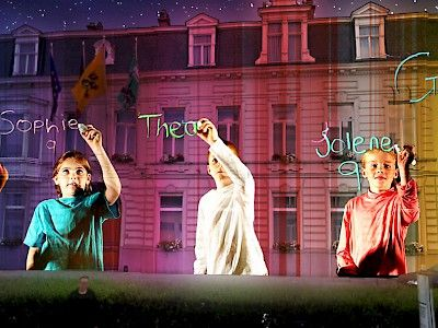 Program | Ghent Lightfestival 2015 | IYL2015 AIL2015.  15. Ocubo - The Sound of Light Governor's Residence (Vlasmarkt)  The Sound of Light transports you into the enchanting world of music through the eyes of children.