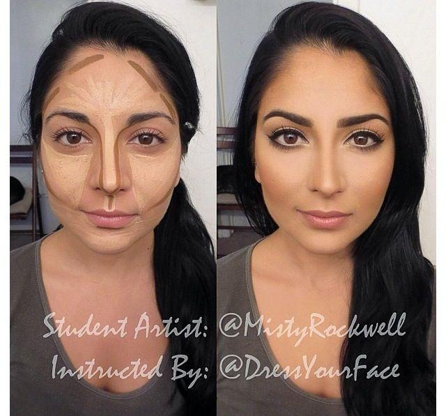 25+ beste ideeën over Face contouring tutorial op Pinterest ...