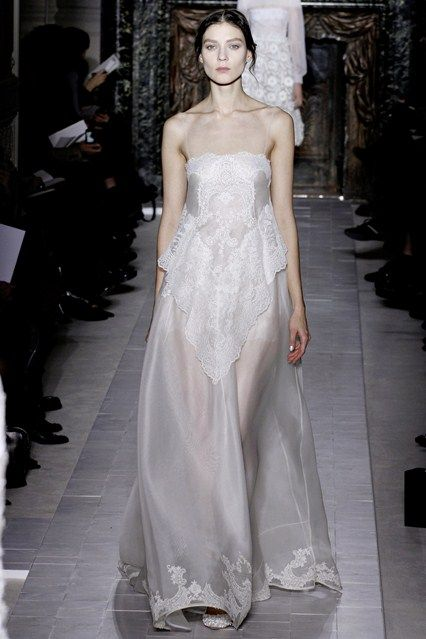2013 January, Valentino  A Midsummer Night's Dream of a bride.