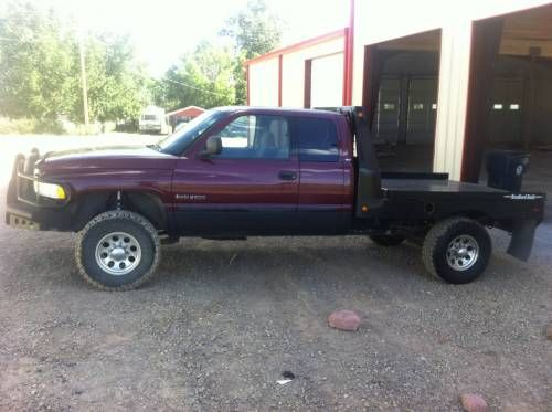 02 Dodge 2500 Cummins for Sale - For more information click on the image or see ad # 34627 on www.RanchWorldAds.com