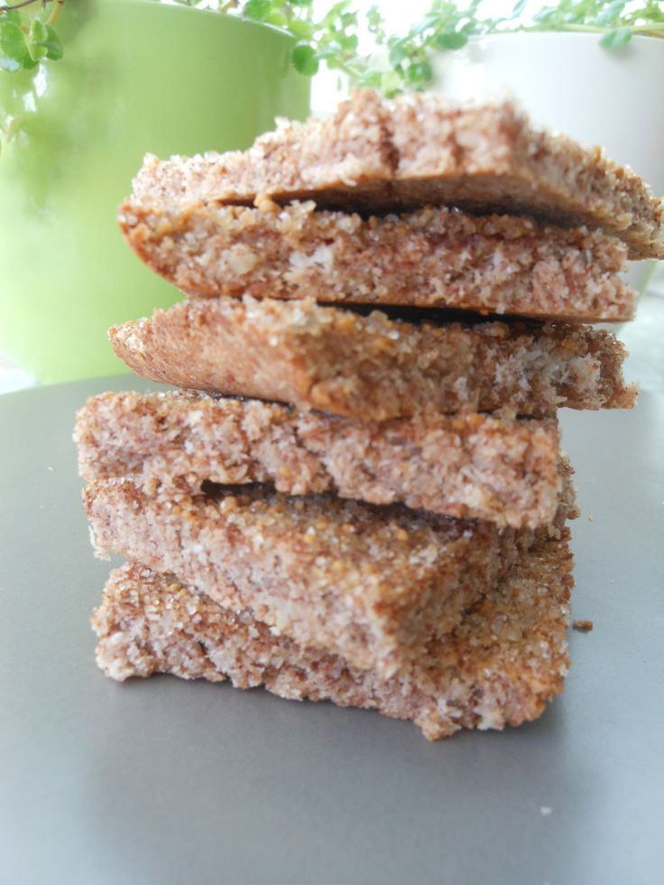 Cinnamon toast crunch coconut pulp cookies.  Gluten and Dairy Free