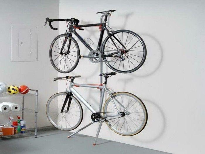 rangement vélo - porte velo attelage decathlon