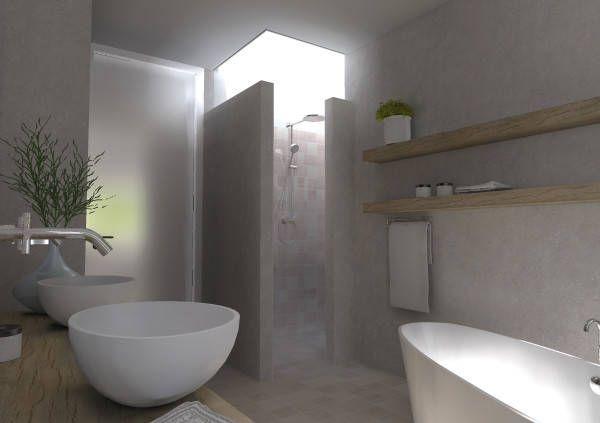 17 beste afbeeldingen over badkamer op pinterest toiletten layout en bad - Lay outs badkamer ...