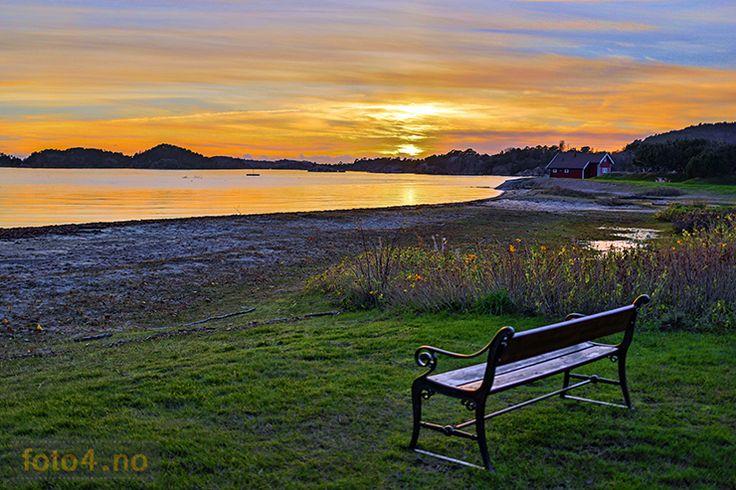 Solnedgang Høllestranda