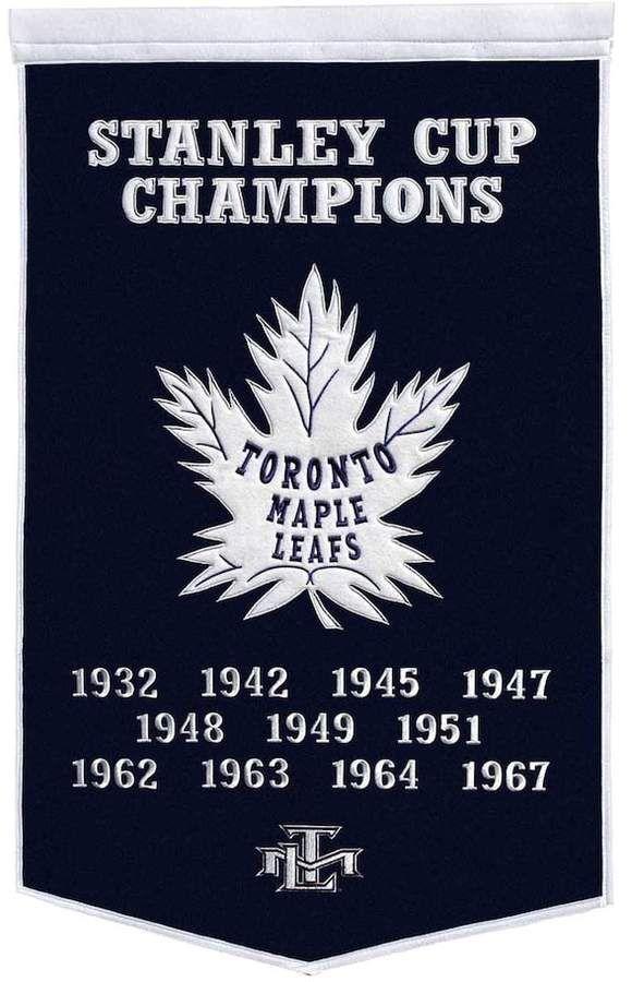 Kohl's Toronto Maple Leafs Dynasty Banner #ad #hockey #banners #toronto