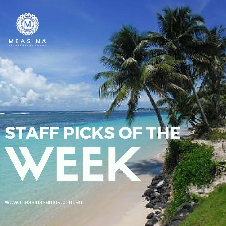Staff Picks of the Week