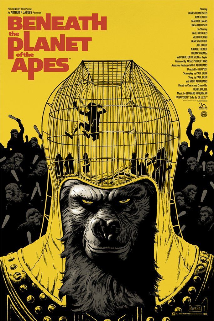 Beneath The Planet Of The Apes By Paolo Rivera Facebook