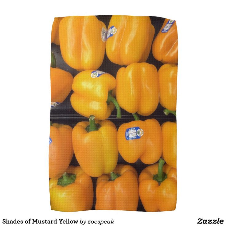 Shades of Mustard Yellow Hand Towel - 15% Off with code ZCARDSUITE40 from ZoeSPEAK from ZoeSPEAK