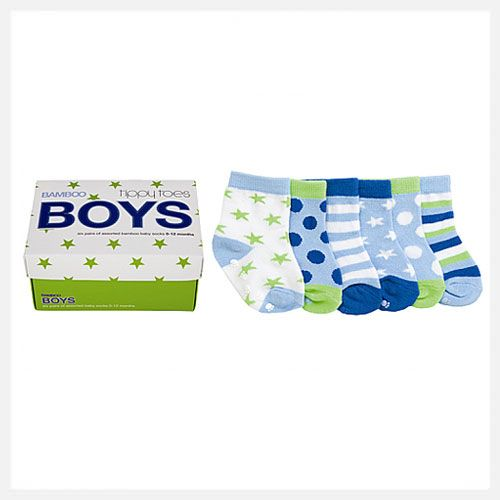 Tippy Toes   Bamboo Baby Socks at little green footprints
