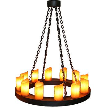 Add A Sense Of Modern Mountain Style To Your Home S Decor With The Round Candle Chandelier This Handcrafted Features Rugged Steel