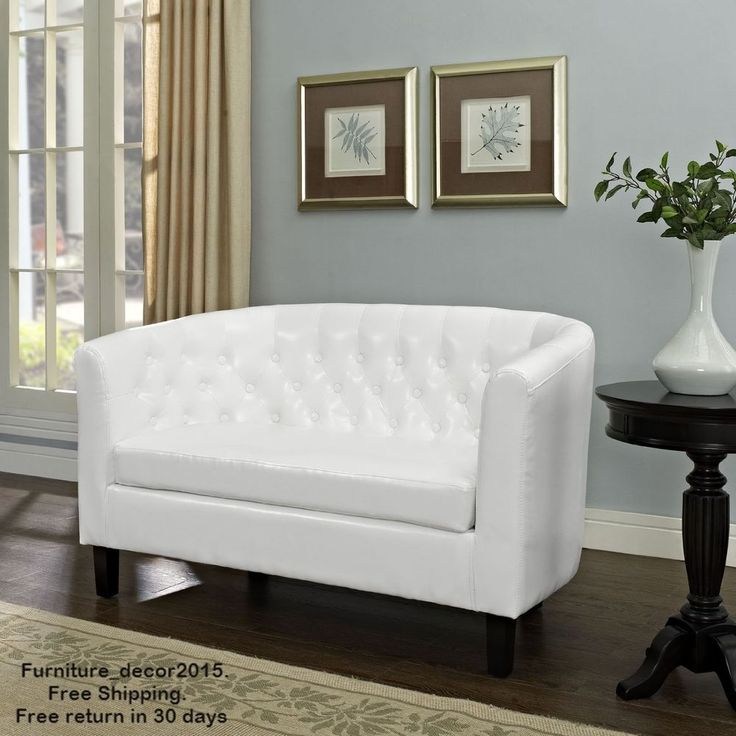 38 best White Futons/Loveseats images on Pinterest | Loveseats ...