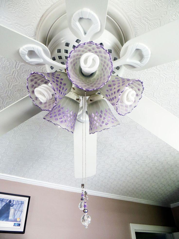 crack on edge of ceiling fans