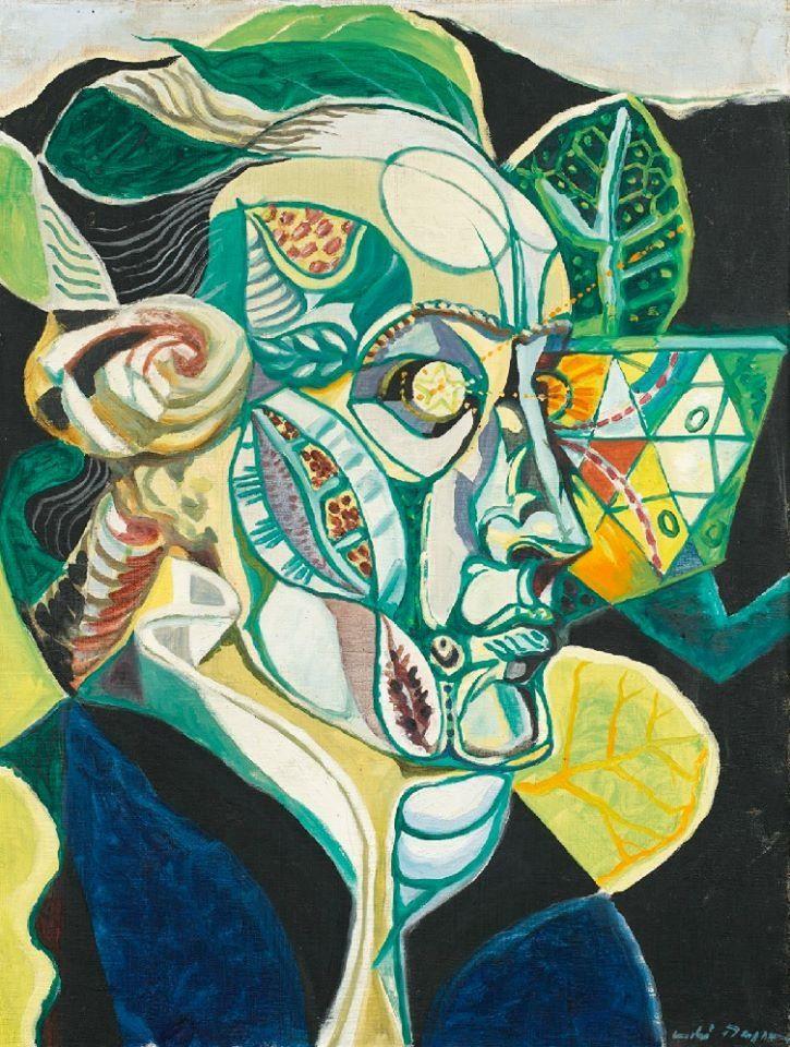 Andre masson portrait of goethe 1940