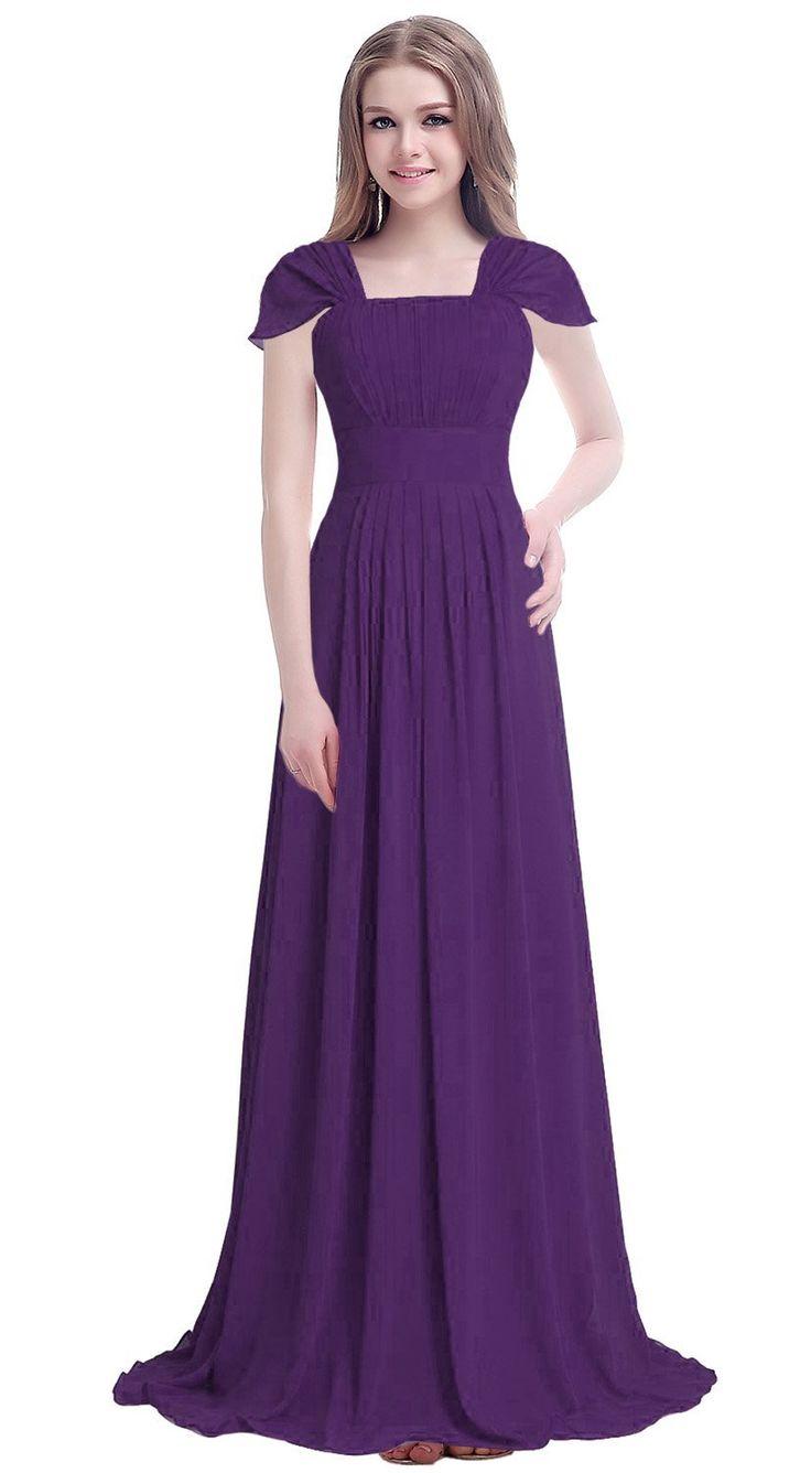 31 best Purple bridesmaid dresses images on Pinterest   Flower girls ...