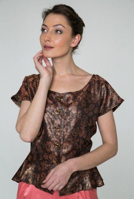 Vinta Definita blouse. www.facebook.com/irishcouture