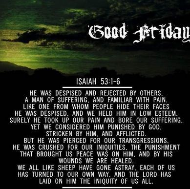 good friday bible verses | Good Friday Quotes And Sayings | Good Friday 2014 Prayers, Quotes ...