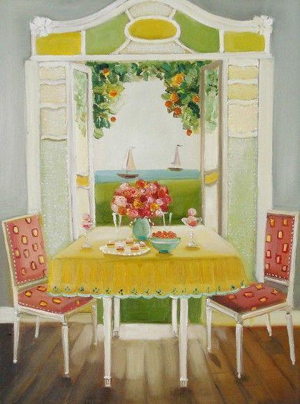 Sweet Art (by artist Janet Hill) » Glorious Treats