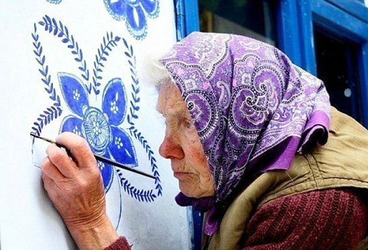 A Whole Village Was Turned To An Art Gallery By A 90-Year-Old Czech Grandma