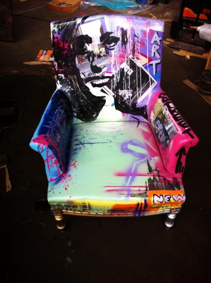 Best 25 Graffiti furniture ideas on Pinterest  Graffiti