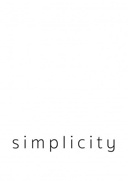 Simplicity_white