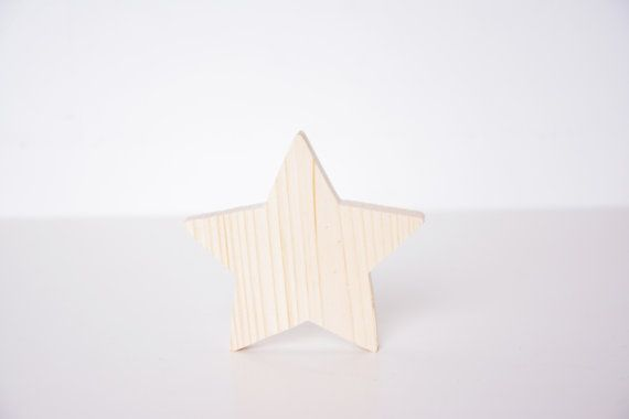 wooden standing star, small Christmas decor, winter bedroom season holiday table window decoupage blank shape, DIY unfinished cutout shape