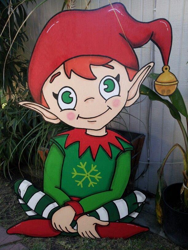 Elf design#wooden yard art ideas