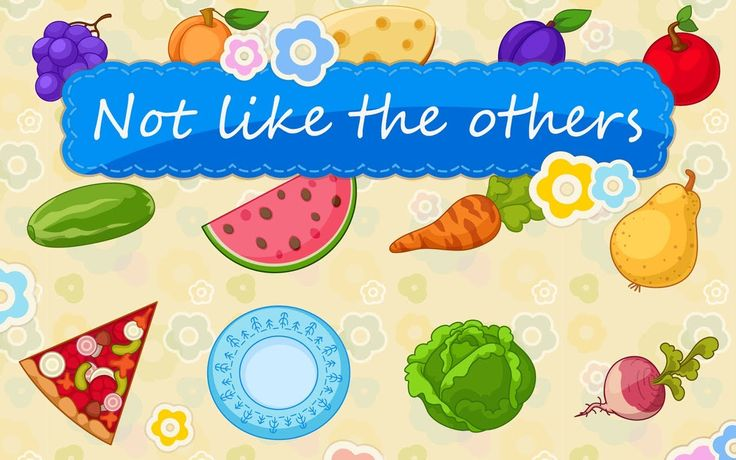 Not Like the Others 1.3.4: educational games for kids 3-5 years old