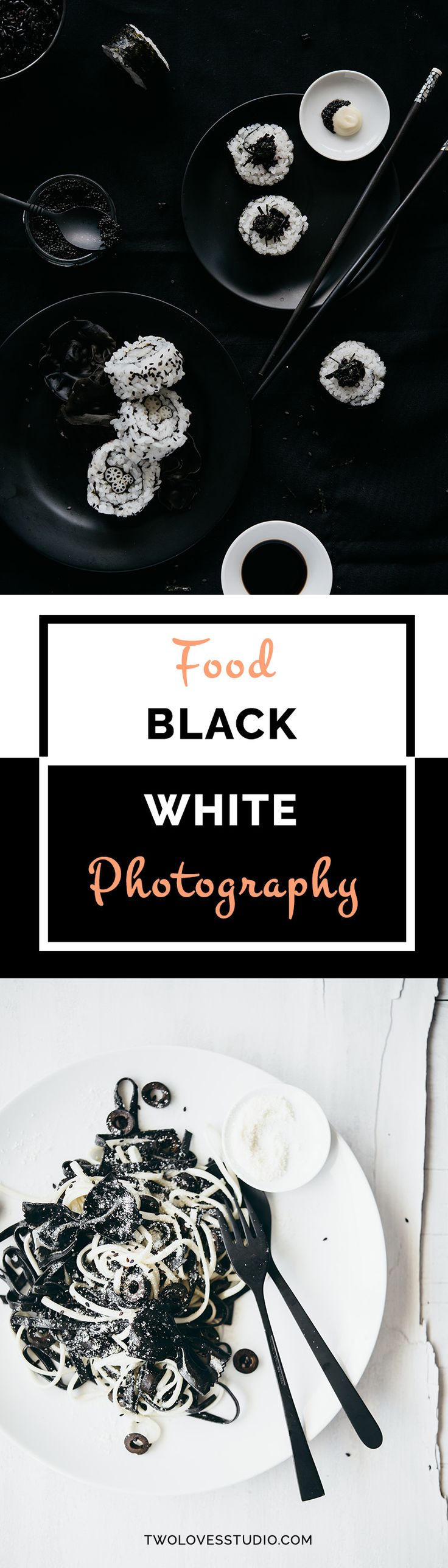 Two Loves Studio | Black + White Food Photography But Not As You Know It