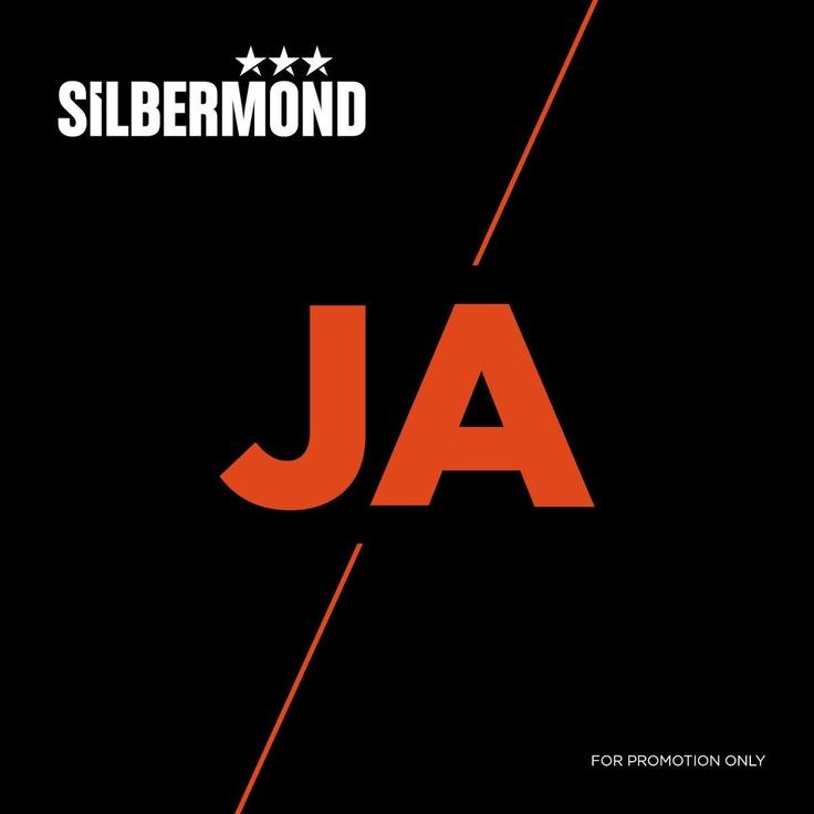 single cover art: silbermond - ja [2012]