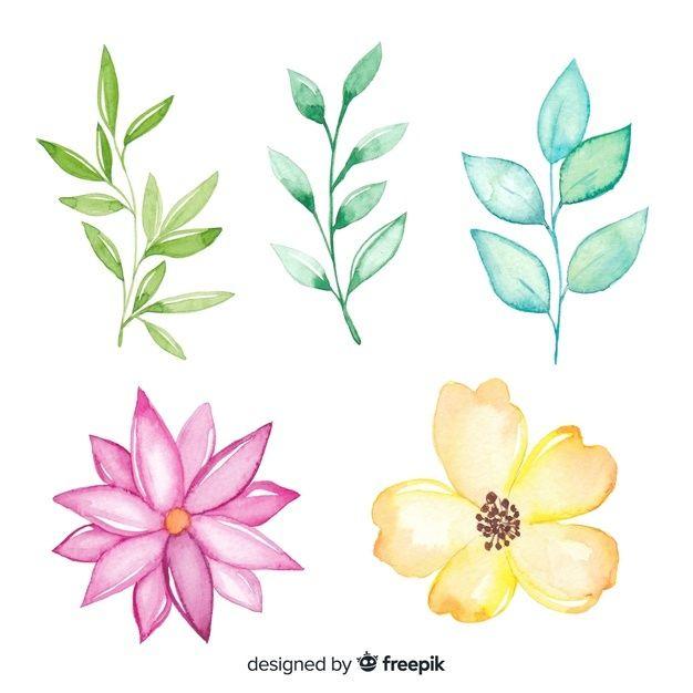 Pobierz Sliczne Uproszczone Rysunki Kolorowych Kwiatow Za Darmo Flower Drawing Watercolor Paintings For Beginners Colorful Flowers