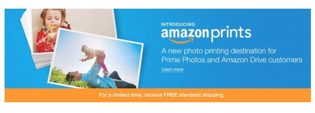 Get 50 free photo prints from Amazon right now!