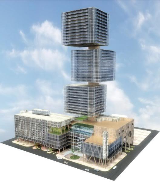 Propuesto por Arquitectos Fournier    SAN JUAN | OCEAN PARK | Ocean Walk | 50 pisos | Can - SkyscraperCity