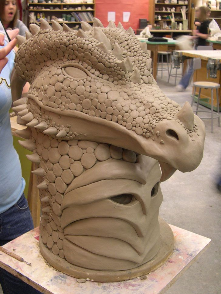 32 Best Images About Clay Animal Masks Heads On Pinterest