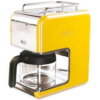 Cafeteira Elétrica 6 Xícaras Amarela - Kenwood