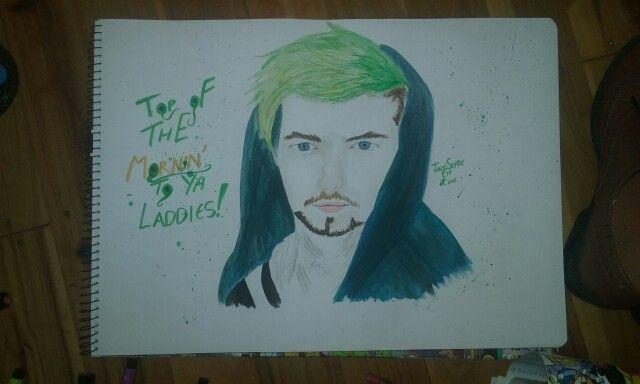 JackSepticEye! ^-^ my drawing! (Lucia Bondevik)
