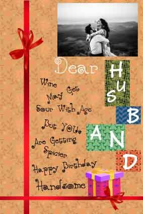 happy birthday letter for husband from wife with birthday gift fully customized products free customization layouts huge range of layouts