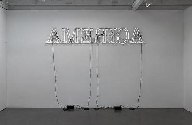 Glenn Ligon,  Rückenfigur, 2009, gift of the 2010 Collectors Committee