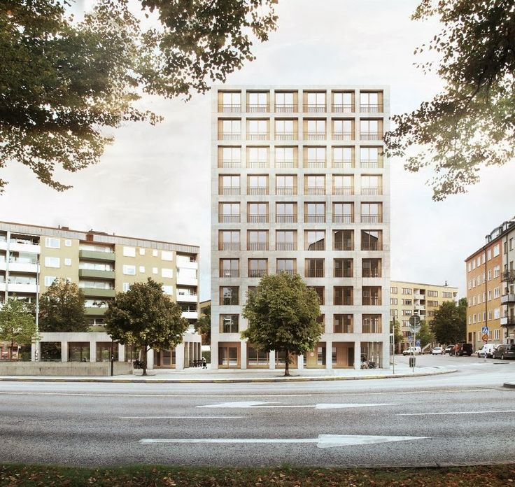 Tideliust ppan stockholm j gnef lt milton arkitekter for Kar design apartments