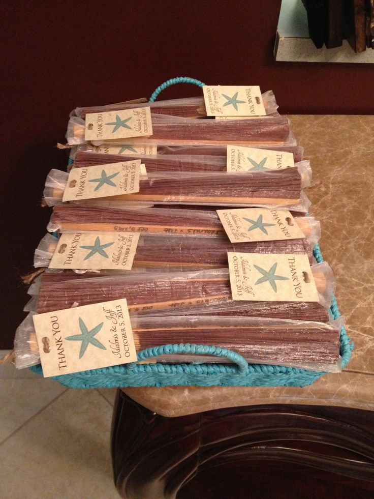 Chocolate Brown Hand Fans for Women's Favors