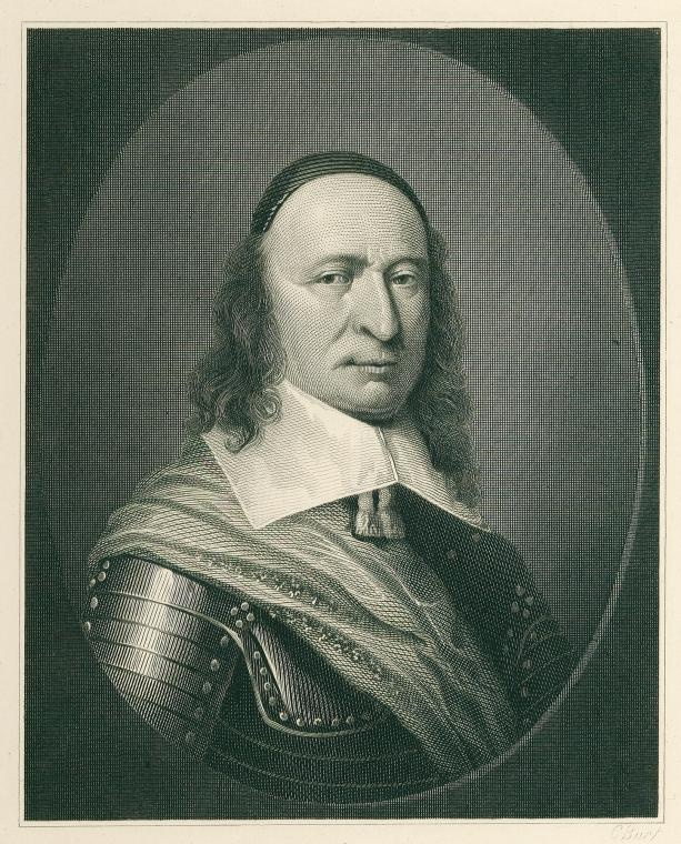 New Amsterdam Governor Peter Stuyvesant