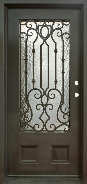 Single Entry Wrought Iron Doors Decorative Doors Gates