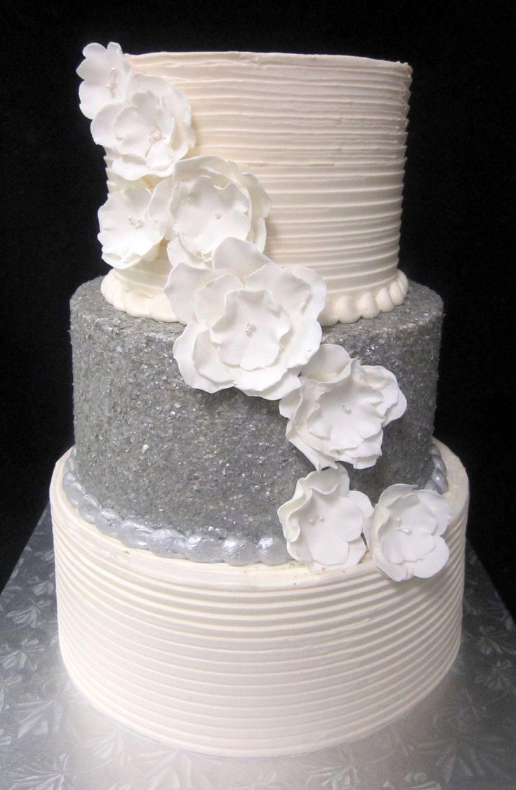Best 25 Glitter Wedding Cakes Ideas On Pinterest Cake