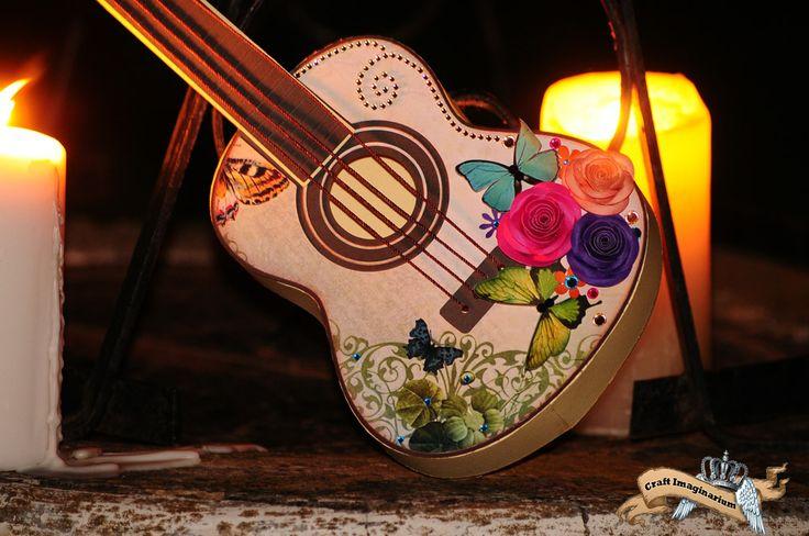 Guitar  Butterfly .